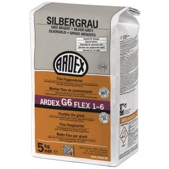 Ardex G6 Fugenmörtel Flex 5kg silbergrau