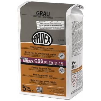 Ardex G9S Fugenmörtel Flex 5kg grau