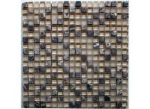 Mosaik 1,5x1,5 braun beige