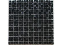 Mosaik 1,5x1,5 Metall schwarz