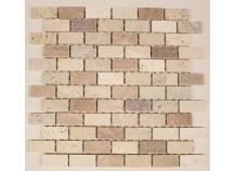 Mosaik 2,3x4,8 Rosso-Mix