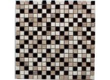 Mosaik 1,5x1,5 beige braun