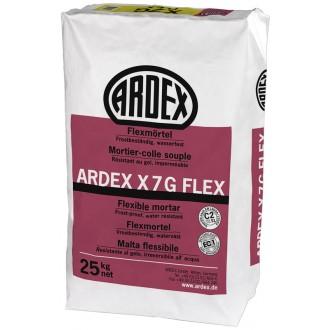 ARDEX X7G FLEX DÜNNBETTMÖRTEL 25 KG