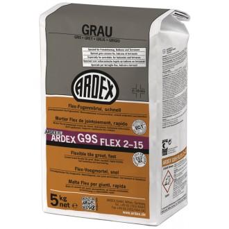 ARDEX G9S FUGENMÖRTEL FLEX 5 KG GRAU