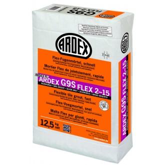 Ardex G9S Fugenm÷rt.Flex 12,5kg silberg.