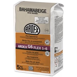 ARDEX G6 FUGENMÖRTEL FLEX 5 KG BAHAMAB.