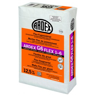 ARDEX G6 FUGENMÍRT.FLEX 12,5KG SILBERGR.