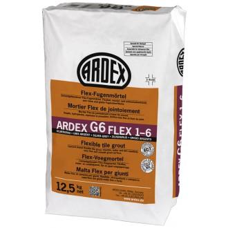 ARDEX G6 FUGENMÖRT.FLEX 12,5KG SILBERGR.