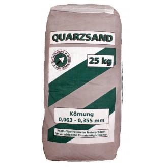 Quarzsand 0,063 - 0,355 mm 25 kg