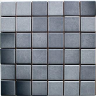 Mosaik 5x5 grau anthrazit