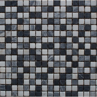 Mosaik 1,5x1,5 Nero-Mix