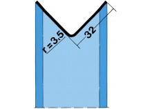 Kantenschutzprofil 2041 2,0 m