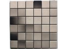 Mosaik 5x5 schwarz-grau