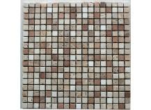 Mosaik 1,5x1,5 Rosso-Mix