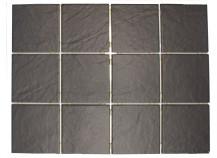 Mosaik 10x10x0,8 schwarz